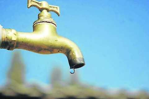 Corte de suministro de agua nuevamente el día de hoy en Coronel Oviedo