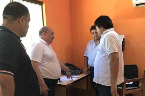 Intervienen puesto de fiscalización de la DINATRÁN en Coronel Oviedo